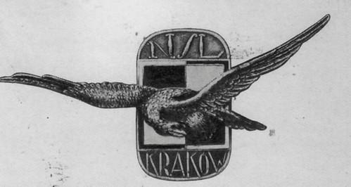 Odznaka Niższej Szkoły Lotniczej w Krakowie