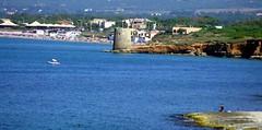 Platamona (antonè) Tags: sardegna sea summer italy water mare torre rocce sassari spiagge platamona antonè