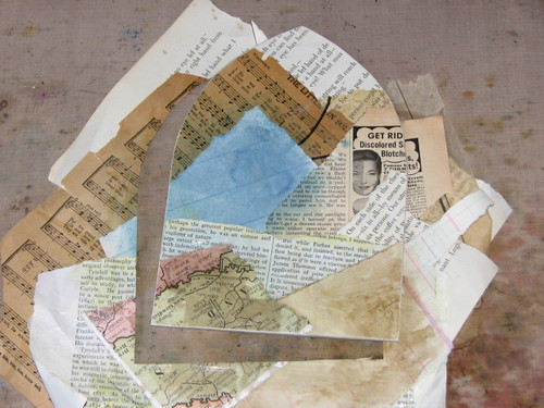 layered ephemera gothic arch 008