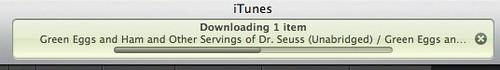 Downloading Dr Seuss