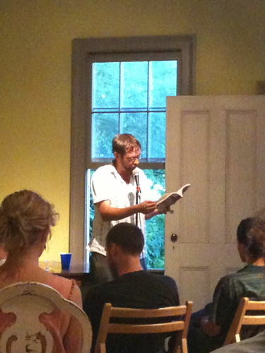 Anselm Berrigan reading