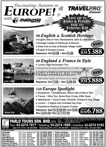 Gtt Tours And Travel Sdn Bhd