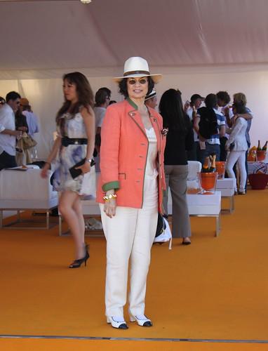 Bianca Jagger @ The Veuve Cliquot Gold Cup