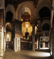 Interior view 1 - The Complex of Sultan Qalawun مجمع السلطان قلاوون / El.Muiz Le Din Allah Street / Cairo / Egypt - 29 05 2010 (Ahmed Al.Badawy) Tags: street architecture 1 view shots interior 05 egypt cairo le sultan 29 ahmed complex din allah islamic 2010 the السلطان مجمع mamluks qalawun قلاوون albadawy hutect elmuiz