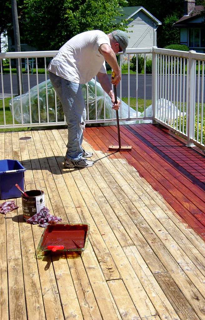 Redoing your deck with Behr products: Phase 2