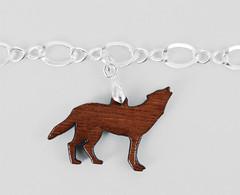 Wooden Wolf (smarteepantz) Tags: eclipse jacob edward charmbracelet crystalheart sterlingsilverbracelet bellasbracelet woodwolf