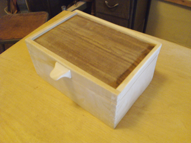 The Finished Cherry Box... Unfinished