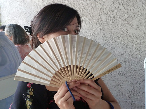 Fun with a fan