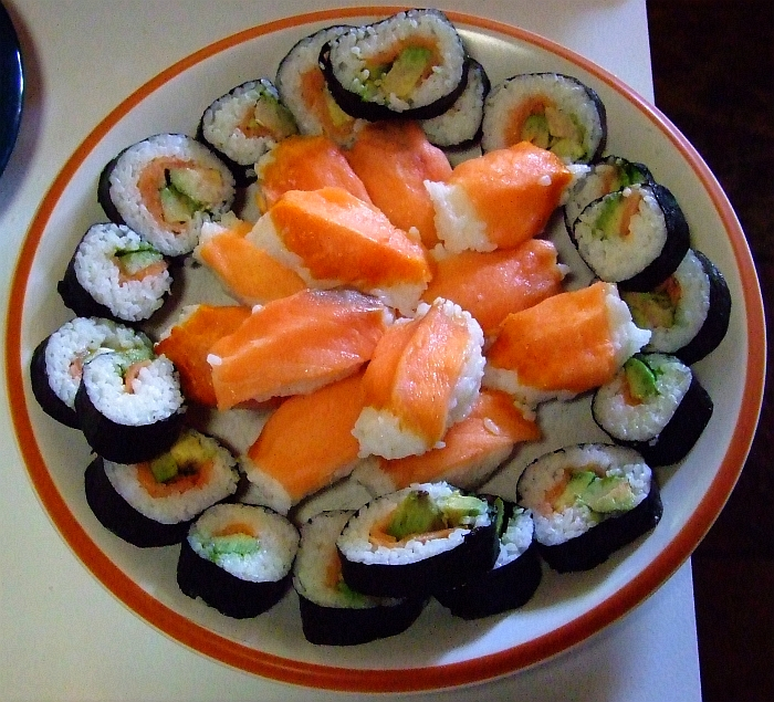 another sushi platter
