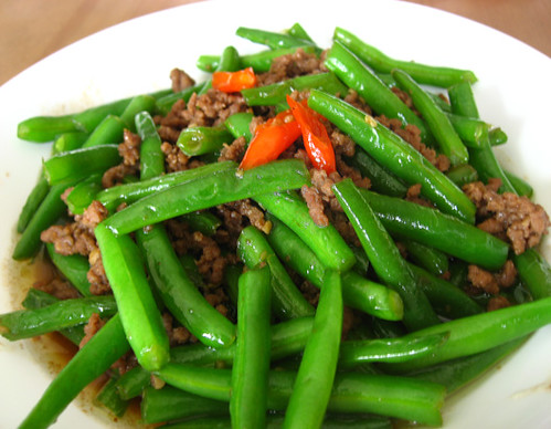Cooking101: Stirfry Green Bean with Ground Beef