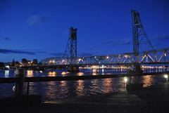 piscataqua river (keirstenmarie) Tags: bridge marina river dock nh portsmouth boatlaunch piscataquariver vetmemorialbridge