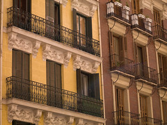 SM700058.jpg (Keith Levit) Tags: madrid windows building window yellow stone wall buildings photography spain europe exterior balcony fineart spanish shutters shutter balconies walls railing railings exteriors levit faade keithlevit keithlevitphotography