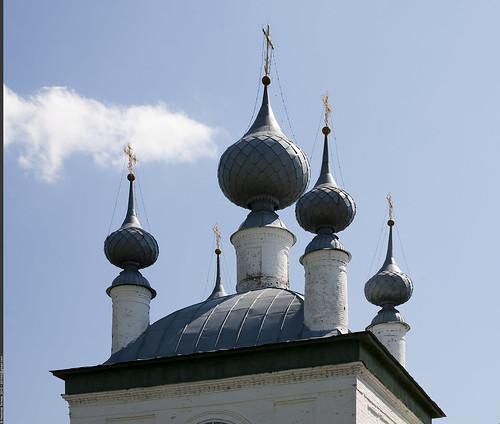Церковь Введения во храм Пресвятой Богородицы ©  Nickolas Titkov