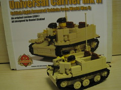 universal carrier (marketgarden village) Tags: lego ww2 mk2 universal carrier bren brengun brickarms brickforge fineclonier brickmania