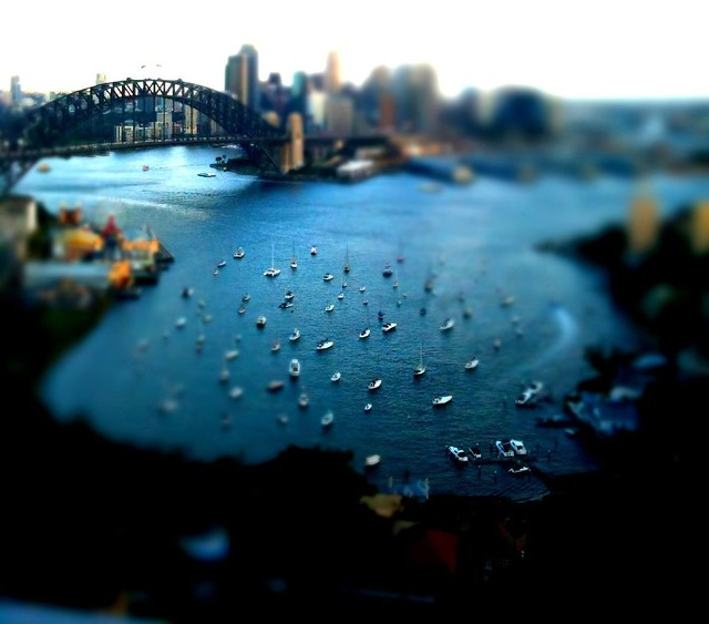 Looking down on Sydney Harbour (EXPLORED FRONT PAGE)