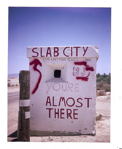 slab city- the last free place