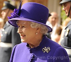 The Queen visits RAF Marham (The British Monarchy) Tags: colour station norfolk standard raf thequeen squadron royalairforce marham