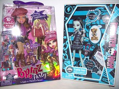 Belated Birthday Presents!! (Fashion_Luva) Tags: party fashion monster high dolls anniversary frankie 10th yasmin stein bratz 2010