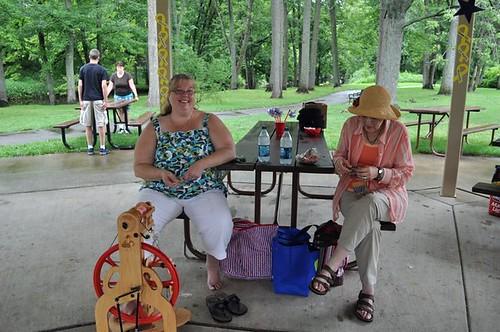 me at FRG picnic