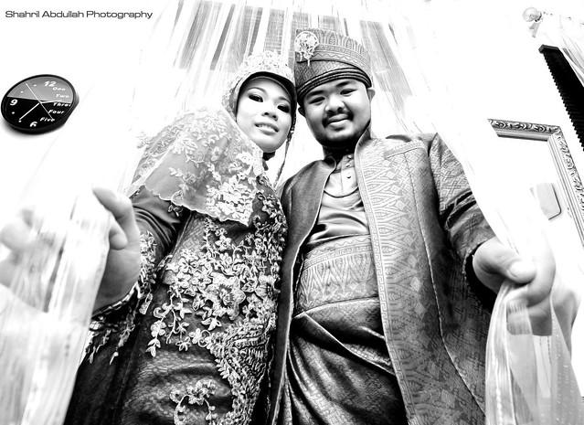 Azim & Rahmah Bersanding