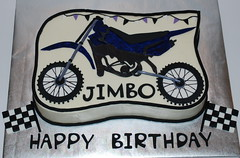Dirt Bike Birthday Cake (cjmjcrlm (Rebecca)) Tags: birthday cake dirtbike fondant buttercream