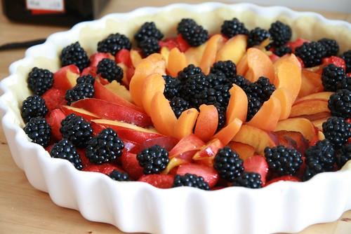 Tarte aux fruits d'été