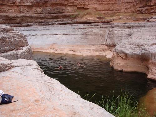 John's Canyon swimming hole