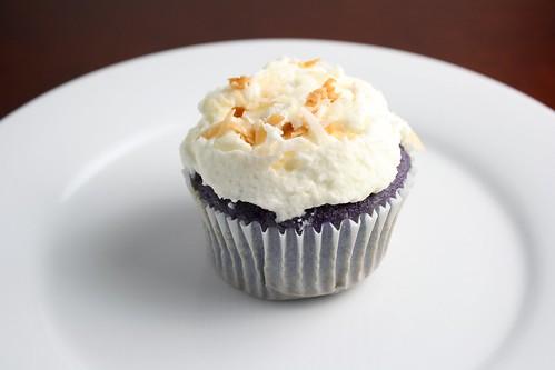 Ube Cupcake
