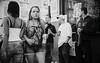 A question of looks (Ian Brumpton) Tags: street carnival blackandwhite bw blackwhite candid bodylanguage londres citystreets chaostheory nottinghillcarnival biancoenero decisivemoment londonist urbantales modelbehaviour lifeinslowmotion aimlessstrolling blackwhiteheartbeats