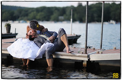 Bliss. (Ryan Brenizer) Tags: wedding woman man love groom bride newjersey nikon kiss bokeh 85mmf14d d3s