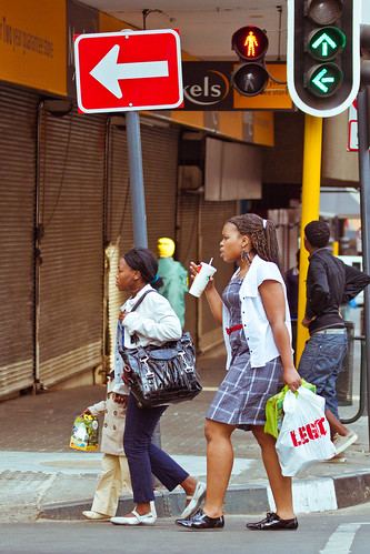 Jozi walkabout - They're heading the right way