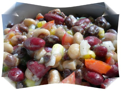 Southwest Bean Salad @ Recipe Addict