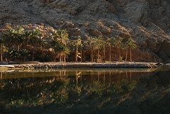 OMA-Wadi Shab-0812-054-OR (anthonyasael) Tags: people cliff mountain reflection green nature water pool beauty rock horizontal river outside reflecting countryside scenery rocks gulf natural outdoor no country scenic rocky nobody landmark scene reservoir east reflect remote rough arabian rocking middle peninsula inland oman tough idyllic wadi tranquil eroded pristine toughness crystalline in  shab nonurban  om  omo