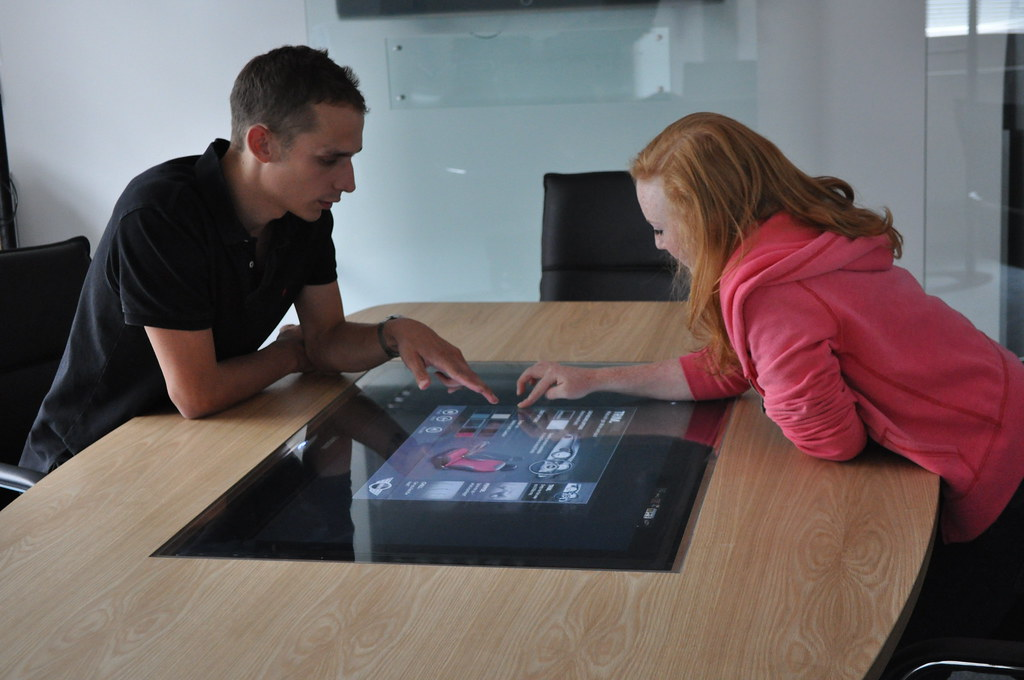 Collaborative Touch Table Interaction