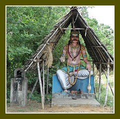Village God (Indianature so) Tags: india art heritage history rural village amman culture society tamilnadu dravidian villagelife mariamman indianature tamilculture aiyanar villagegods iyanar muneeswaran dravidianheritage snonymous ruralgods primordialdeity