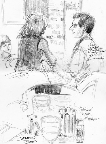 Urban Sketchers symposium: Gabi, Simo, Marcello, and Borromini