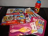 disney goodies (alteredlady) Tags: cakes sunglasses jessie pencils buzz toys princess toystory woody disney aliens aurora mickeymouse belle cinderella pens rex snowwhite stationery princesses aeriel