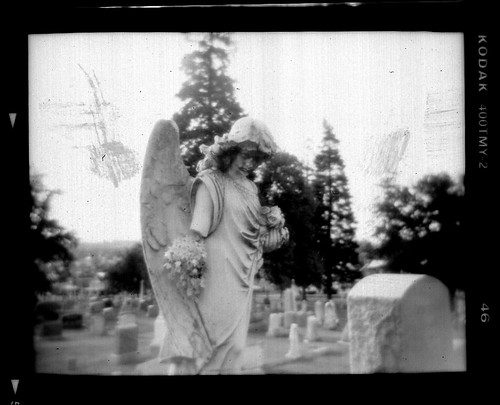 Holga Angel Negative