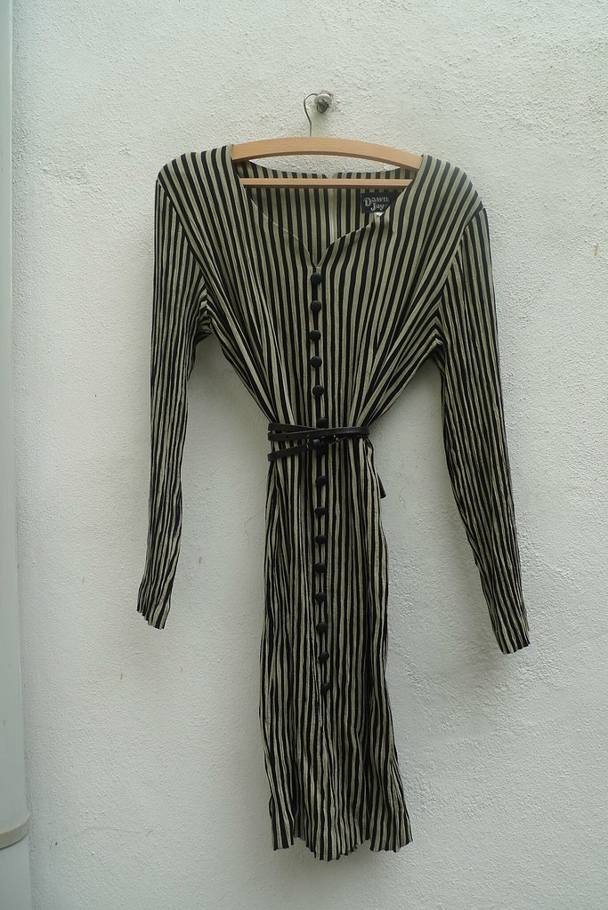 Stripy vintage dress