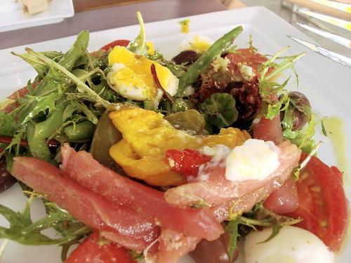 nathalie gourmet studio - nicoise salad