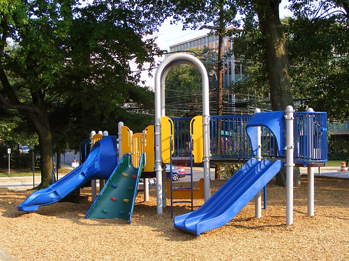 Woodside Park New Jungle Gym