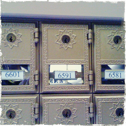 My very own PO Box!