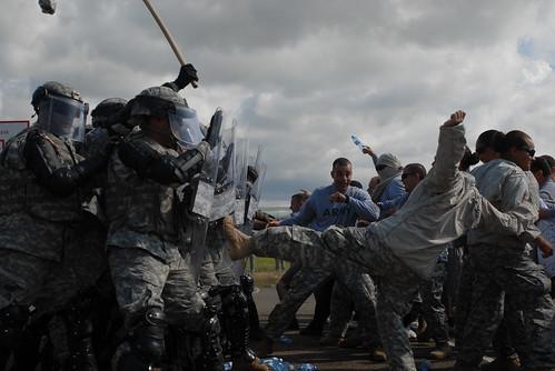 Riot Control Training