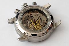 Poljot Aviator Chronograph I (fre123) Tags: liberty 50mm movement nikon hand mechanical watches watch strap 23 f18 jewels wound mechanic chronometer aviator eta chronograph hirsch chrono strela 3133 valjoux d80 poljot