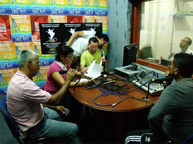 La Marcha Radio por Agencia Prensa Rural