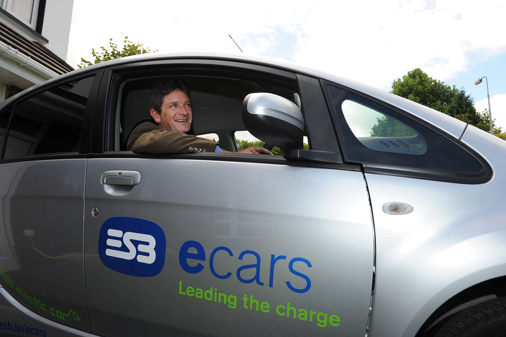 Conor tests electric cars
