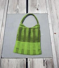 Green Woven Bag 1
