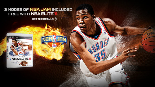 NBA ELITE for PS3 with NBA Jam