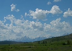Teton Mountain Range Photo