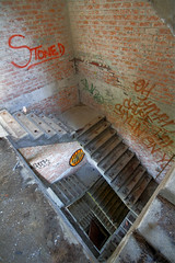 That looks safe (neubauerphotography) Tags: morning urban inspiration abandoned beauty stairs corner that lost was very decay memories detroit over every around hung urbex
